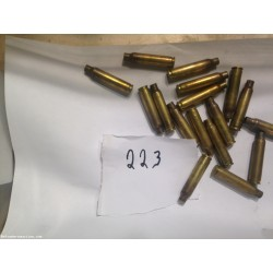 223 fired brass  1000 count