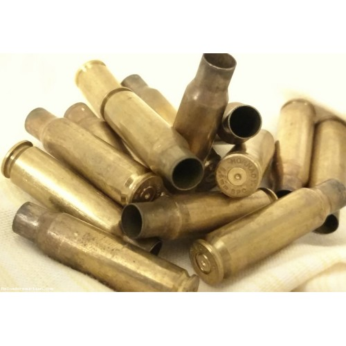 (100) Count .243 WIN Brass, Once-Fired, FREE Shipping.