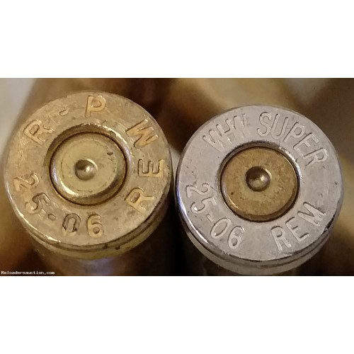 (100+) Count 25-06 Brass, Once-Fired, FREE Shipping!