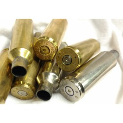 (50+) Count,270 WSM Brass, Once-Fired, Nickel & Brass, FREE Shipping.