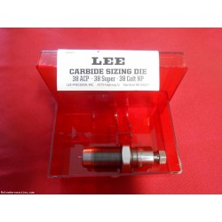 LEE PRECISION CARBIDE SIZING/DECAPPING DIE 38 ACP 38 SUPER 38 COLT NP NEW