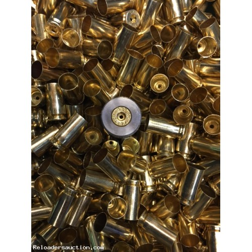 500 x.40 S&W Polished, 100% Processed Once Fired Brass