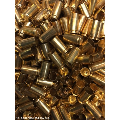 500 x.45 ACP Polished, Unprocessed Once Fired Brass