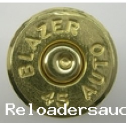 45 ACP Fired Brass SMALL PRIMER 500 count