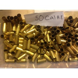 50 Cal AE fired brass - 100 count