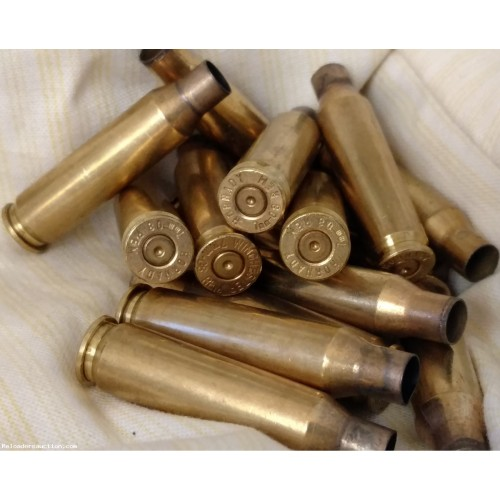 (100+) Count 7mm-08 Brass, Once-Fired, FREE Shipping!