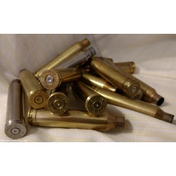 (100) Count 7mm Remington Magnum Brass, Once-Fired.