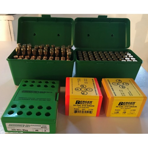 .300 Win Mag Reloading Supplies (Package Deal)