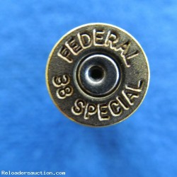 .38 SPECIAL  300+ 1X FIRED CASES MIXED H.S.