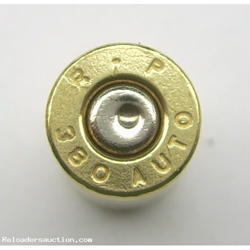 380 Auto Once Fired Brass 500 count