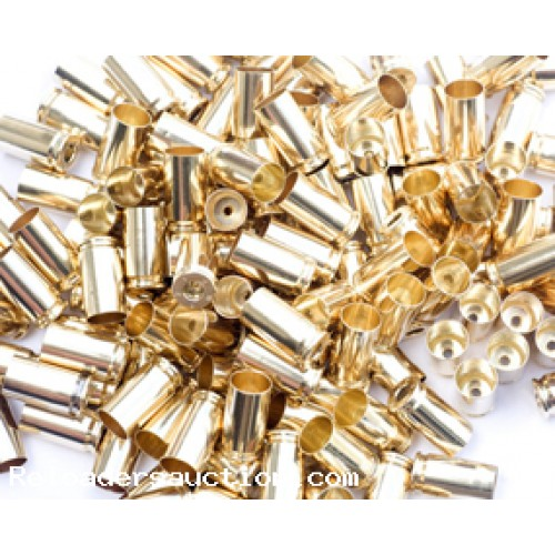9mm Brass Military Once Fired Brass WCC (Winchester) Cleaned, Sized, De-Primed and Polished (500 Count)